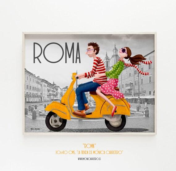 Blade Rome. Design by Mónica Carretero.