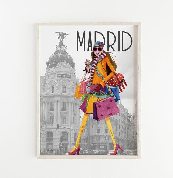 Madrid film. Design by Mónica Carretero.
