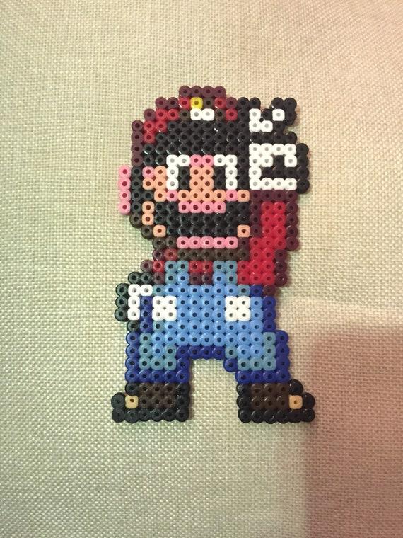 Mario Pixel Art – Super mario world, c'est le mario en pixel art qu'il faut avoir dessiné au moins une fois !