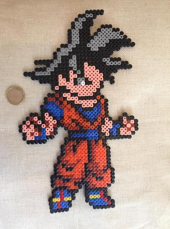 Son Goku Pixel Art Etsy