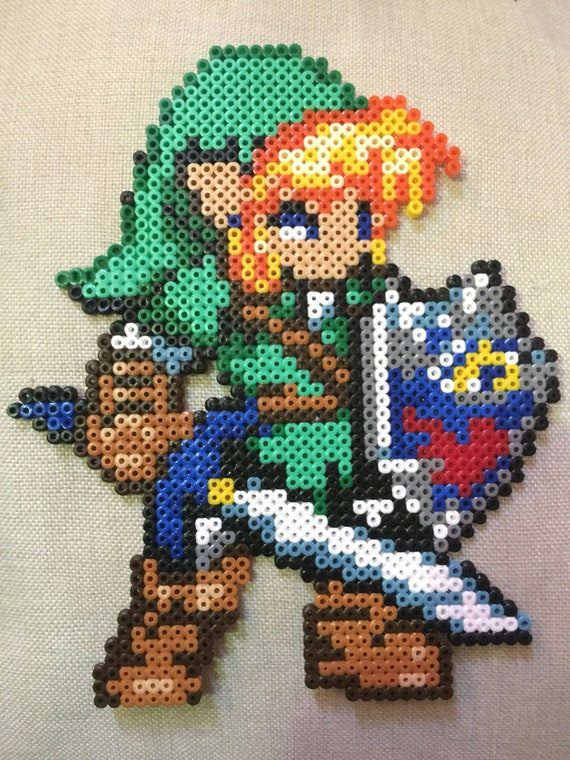 Link Pixel Art Hama Beads