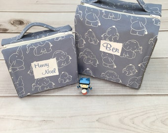 Tasche mit Namen, Musikboxtasche, Freundebuchtasche, Kindergartentasche, Kindergartenrucksack, Nstyle Fashion