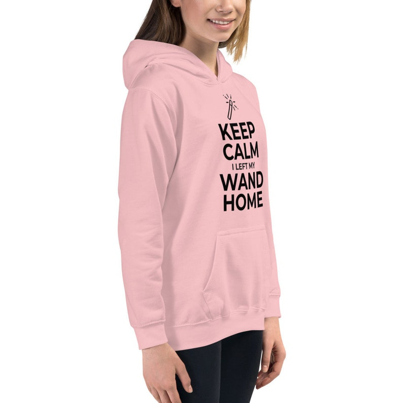 Keep Calm I Left My Wand Home Kids Hoodie
