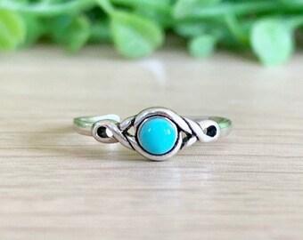26e4aca3d60 Turquoise Toe Ring