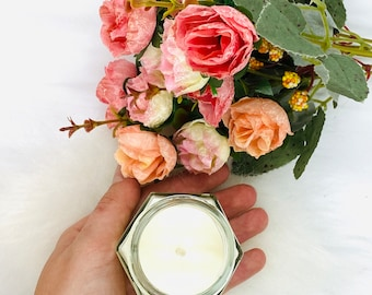 Mademoiselle Scented Soy Candle, 100% Soy Wax Candle, Fragrance inspired, Vegan Friendly Candle