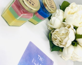 Rainbow Candle, 100% Soy Wax Candle, Charity Candle