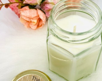 Toffee Apple scented Scented Soy Candle, 100% Soy Wax Candle, Fragrance inspired, Vegan Friendly Candle