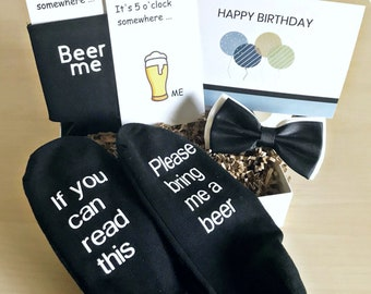 Birthday Present For Men Custom Husband Gift Box Boyfriend 25th Him