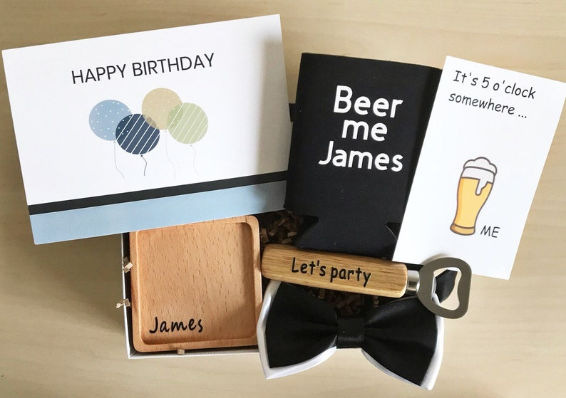 Birthday Gift Box For Him Care Package Custom