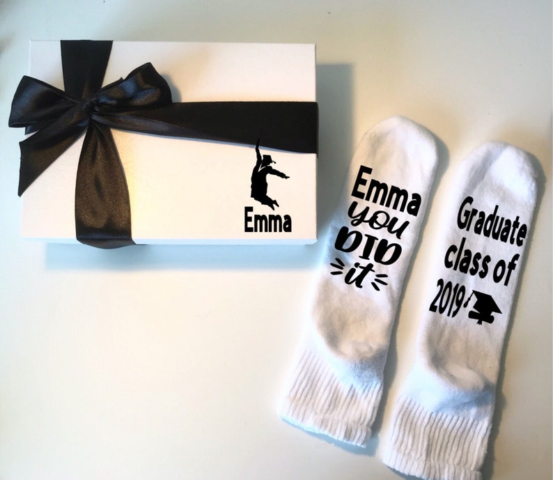 high school graduation gift College  graduation graduation socks Graduation gifts for her gift for daughter senior gifts gift for her