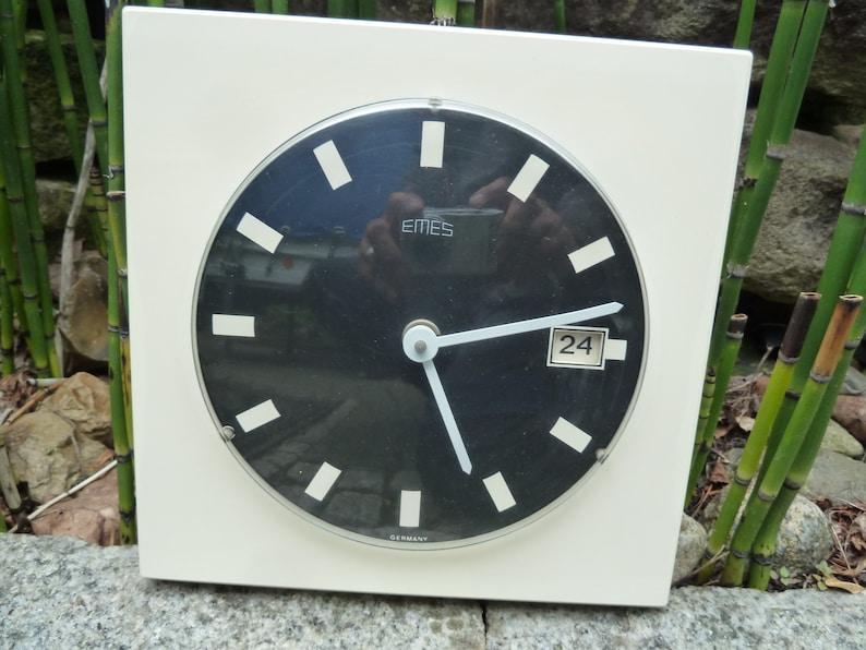 Pleasant Kitchen Clock Wall Clock Emes Vintage 60S Home Interior And Landscaping Synyenasavecom