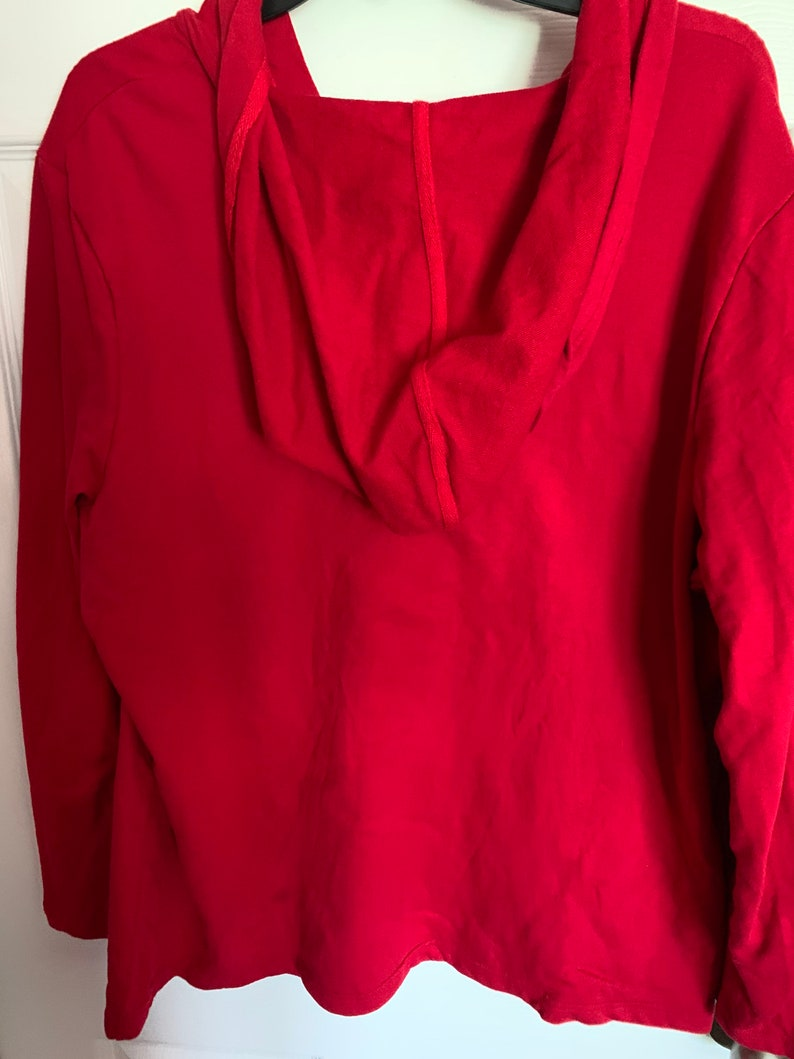 Christmas Holidays Presents Dogs Santa Ugly Sweatshirt Size XXL
