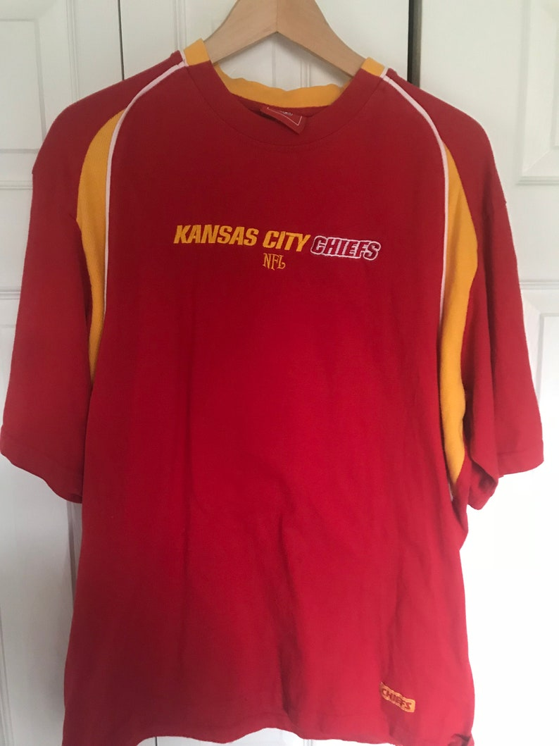 Top Vintage Kansas City Chiefs Embroidered Shirt Size XXL | Etsy  for cheap