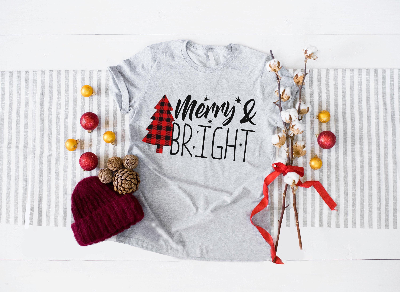 Femme Nu Joyeux Noel cadeau de merry et chemise chemise lumineux noël, joyeux noël, noël