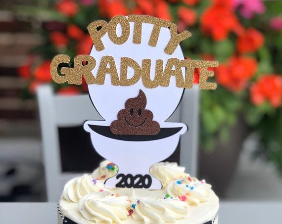 Potty Training Reward, Toilet Cake Topper, Potty Training Graduation Prize