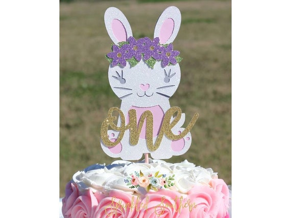 Some Bunny is ONE smash cake topper