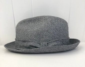 Beautiful grey Homburg from Mallory by Stetson 9beaad2dbe5