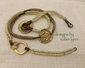 Caboodle Chain Beadweaving Tutorial by Robin L Demarse