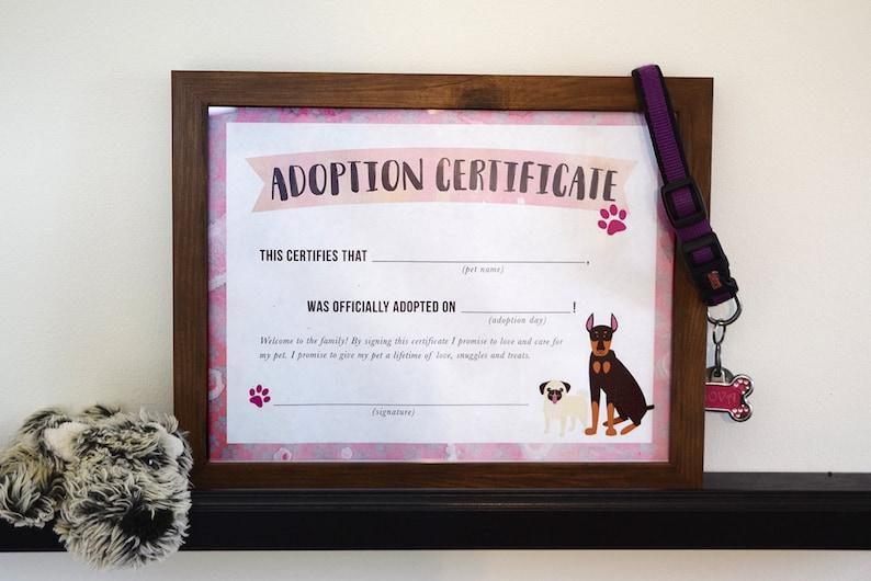 New Puppy Adoption Print