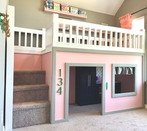 Playhouse Loft Playhouse Bed Playhouse Loft Bed Loft Bed