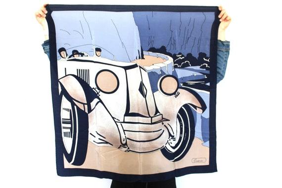 Vintage Old Cars Scarf, Men's Scarf, Women's Scarf