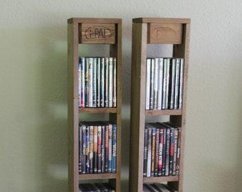 DVD Regal Aus Paletten Shabby Chic Palettenmöbel
