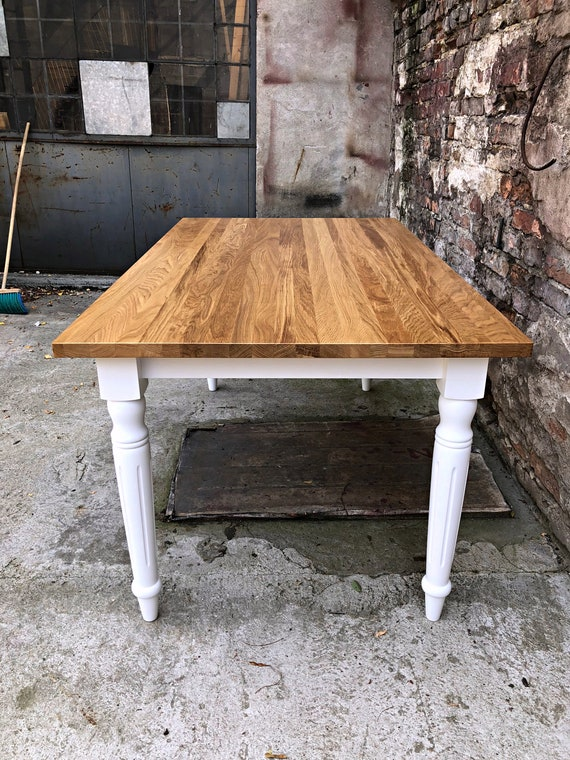 Dining Room Table Wooden Legs