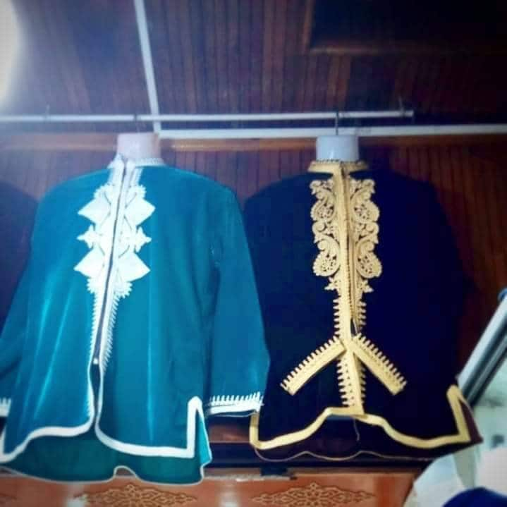 1960s – 70s Men's Ties | Skinny Ties, Slim Ties Free Shipping Stunning Bohemian Moroccan Velour Tunic, Coat Men  Womens, Jacket For Winter S M  L Xl $114.38 AT vintagedancer.com