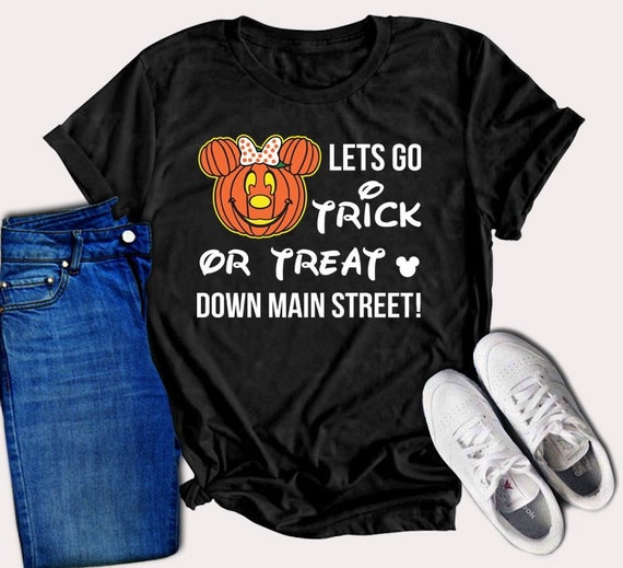 6c67c871 Lets go trick or treat down main street shirt trick or treat | Etsy