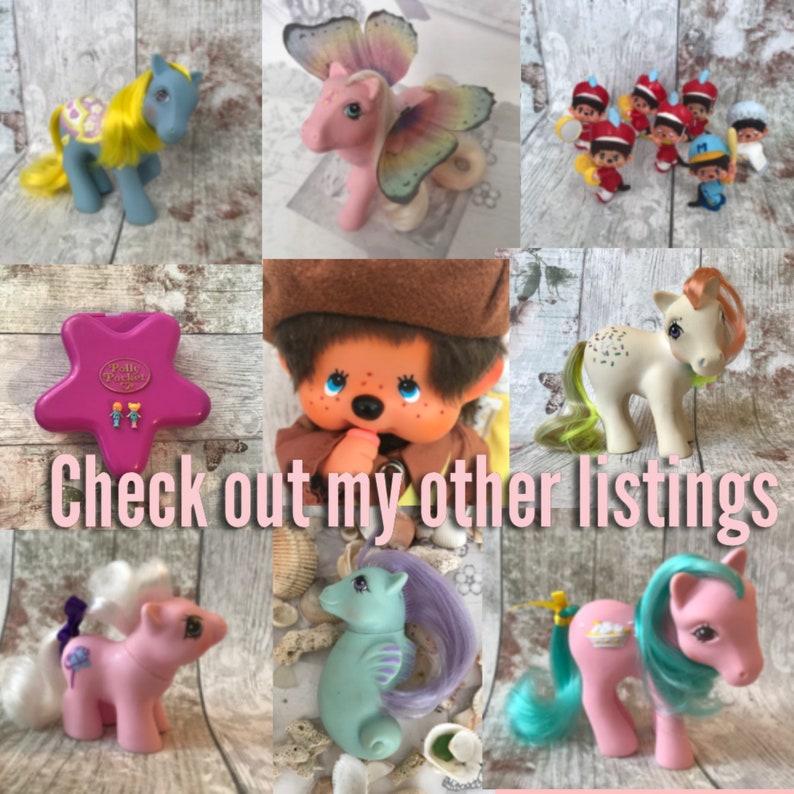 G1 Baby Ember  Mail order My Little Pony  blue baby My Little Pony  80\u2019s Hasbro