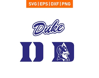 Duke Blue Devils 3 SVG EPS DXF 00105a701aa9
