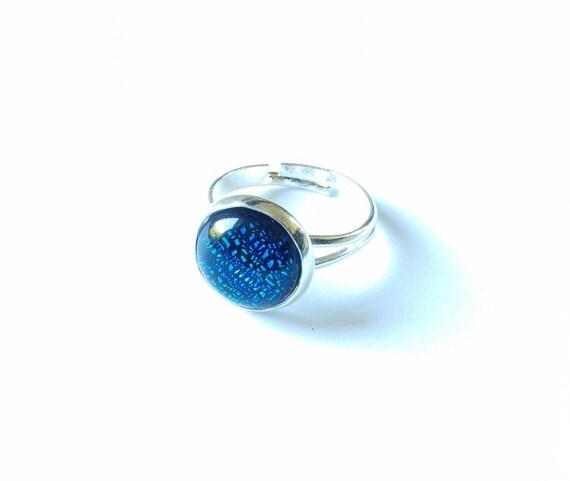 4 cabochon en Royal azul como vidrio CatEye 16 mm