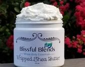 Whipped Shea Body Butter Organic Eczema Moisturizing