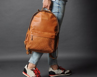 f1fed12a897d Leather backpack