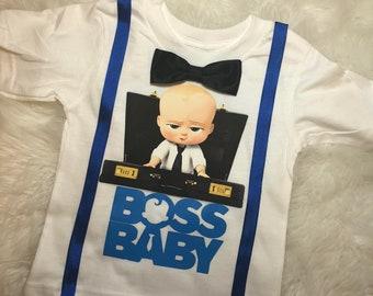 Boss Baby Birthday T Shirt Made To Order