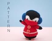 Amigurumi crochet pattern (English) - Kenny the penguin