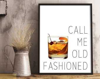 Old fashioned quote | Etsy