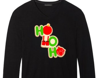 Christmas hohoho long sleeve tshirt 624b7f654