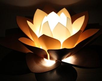 Flower Lamp Etsy