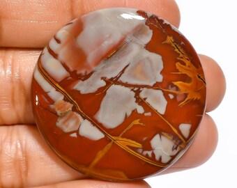 KB-3758 48x37mm Natural Noreena Jasper Cabochon Oval Noreena Jasper Loose Jewelry Use AAA+ Noreena Jasper Noreena Jasper Gemstone