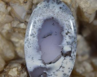 Merlinite - 68ct 44x35x6 Dendritic Opal