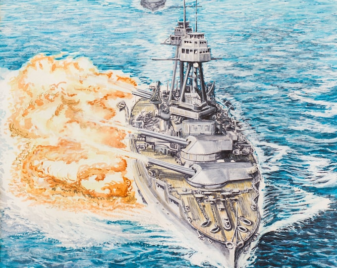 USS Oklahoma BB-37