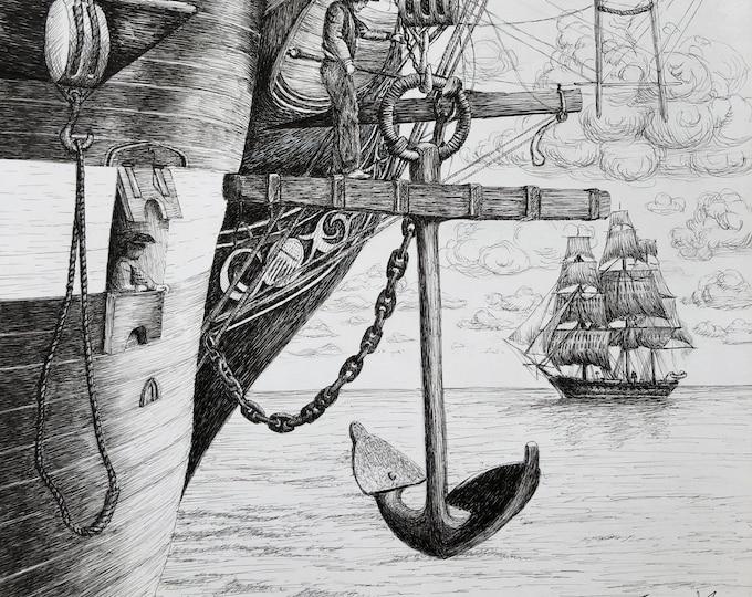 Weigh Anchor