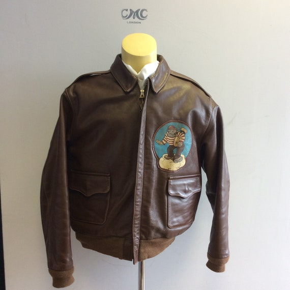 Eastman Leather Co Horsehide Type A2 flight jacket