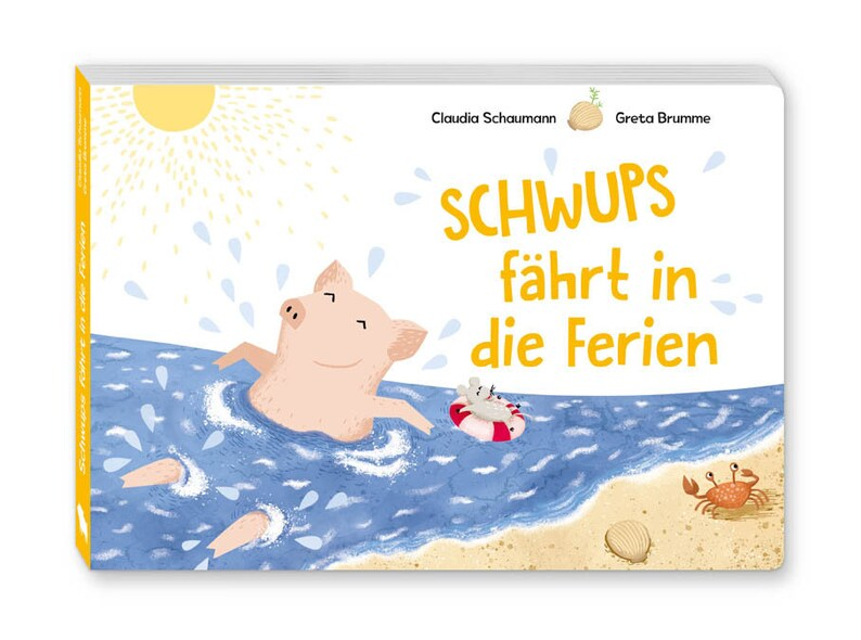 Children's book Schwups goes on holiday image 0