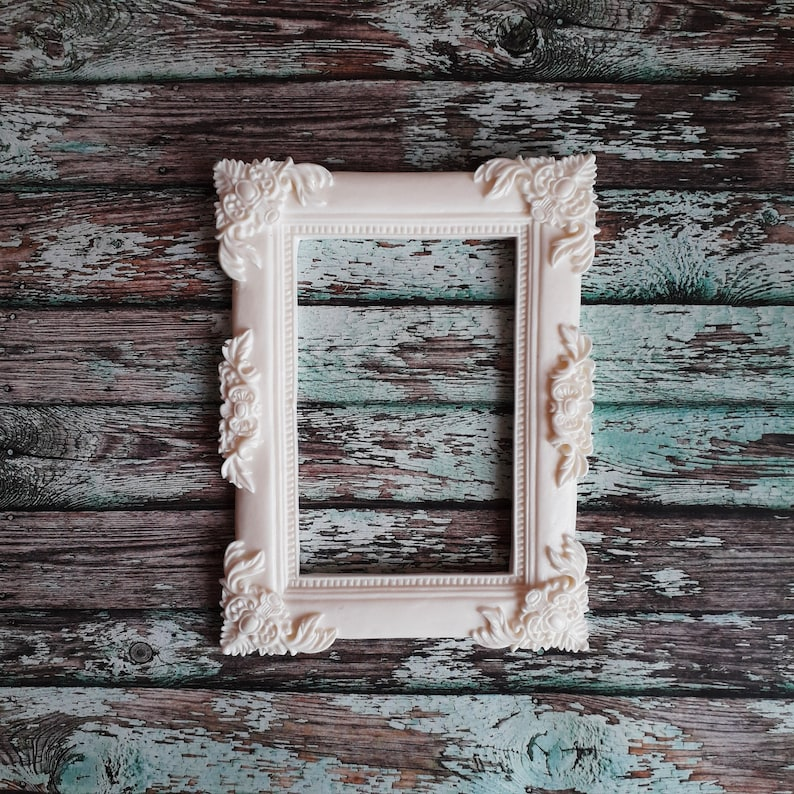 mirrors Doll house frame for painting photos Ornate frame Wall embellishment Craft Onlays Furniture Appliques