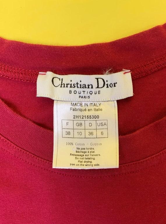 "Dior Fall 2001 ""J'adore Dior"" Tank Top - image 4"