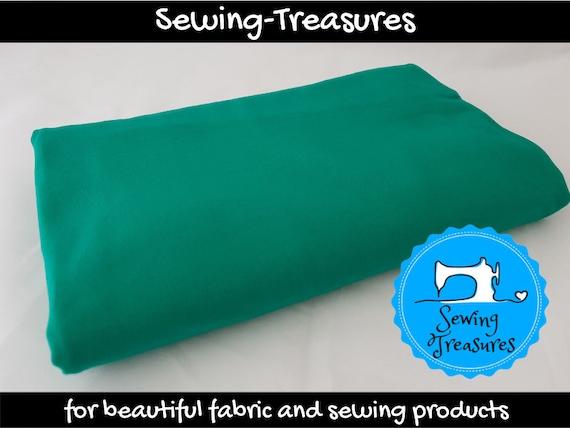 Plain Green 95/% Cotton 5/% Lycra Half Metre Stretch Jersey Knit Fabric