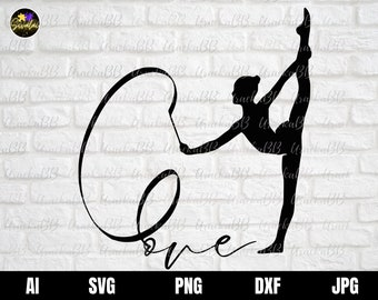 Gymnastic Svg, Gymnast Svg, Gymnastics Svg, Gymnastics Girl Svg, I love Gymnastics Svg, Gymnastics love Svg, Instant Download, Png, AI, Dxf