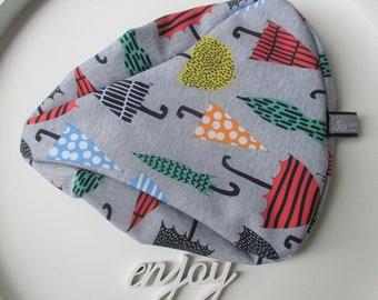 "Saddle protection Softshell ""umbrella"" grey with umbrellas, PLEASE specify dimensions!"
